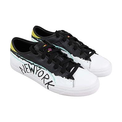 ffe2a3e237a5 PUMA Capri Bradley Theodore Mens White Leather Lace Up Sneakers Shoes 9