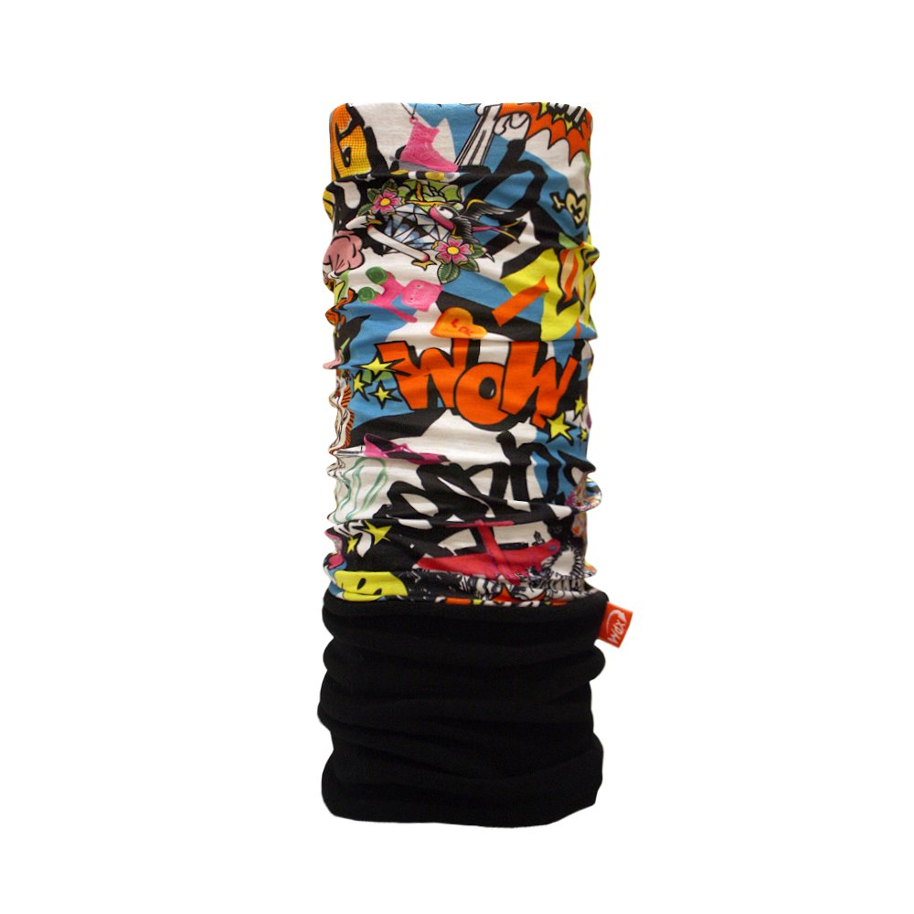 Wind X-Treme Polar Headwear Comic Neck Warmer - Black/Red/White/Blue, One Size 2078 2078_Multicolor-Unica