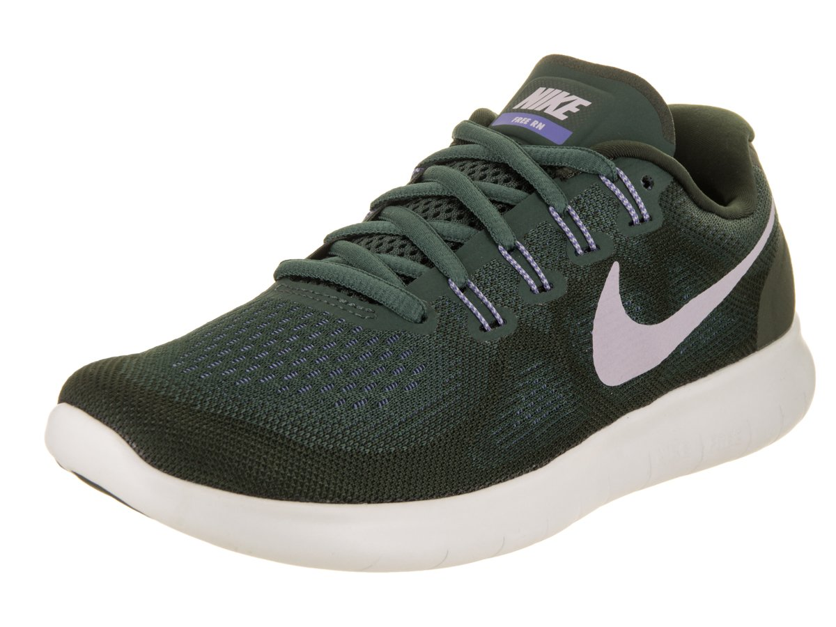 NIKE Women's Free RN 2017 Running Shoe B06X6JJ6PC 10 B(M) US|Vintage Green/Provence Purple-sequoia