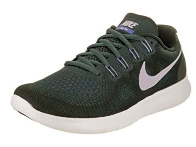 f17da40bac Image Unavailable. Image not available for. Color: NIKE Women's Free Rn  2017 Vintage/Green/Provence/Purple Running Shoe ...