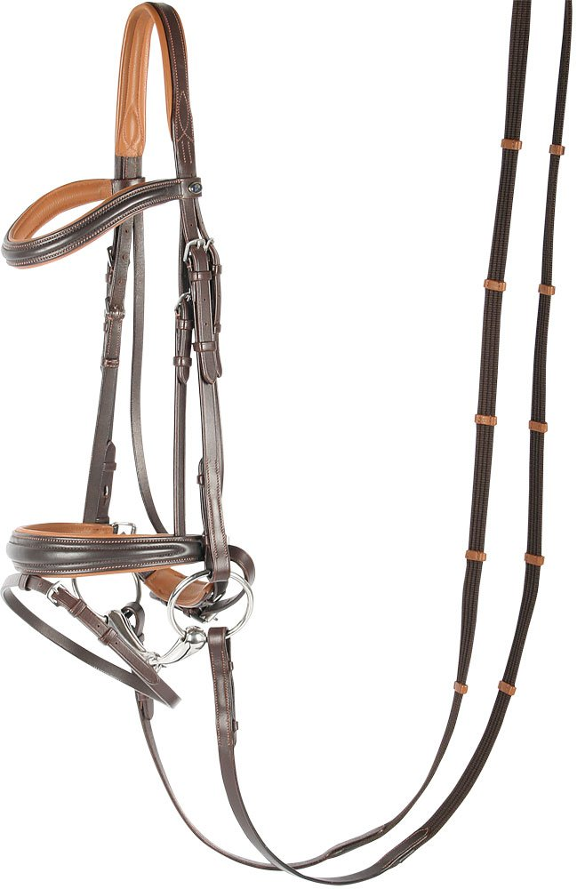 Brown pony brown pony Harry's Horse Swedish Snaffle Soft Brown Pony