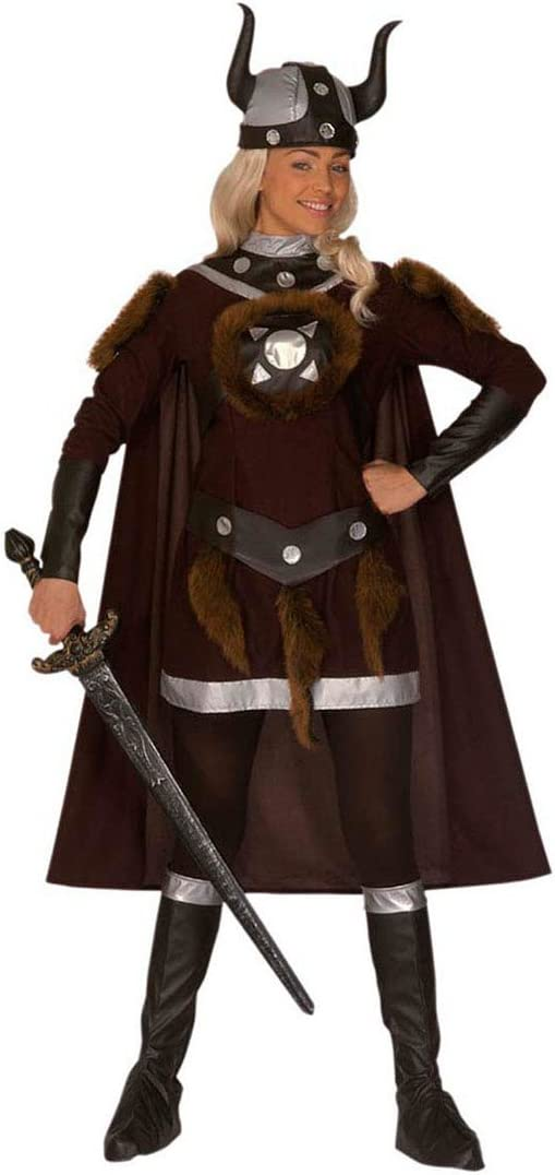 Disfraz de Vikingo barbarin guerrera disfraz de Vikingo del ...