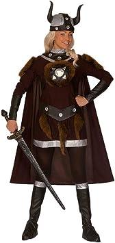 Disfraz de Vikingo barbarin guerrera disfraz de Vikingo del carnaval ...
