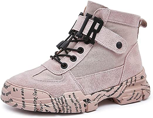AHOES-HY - Zapatillas de Running para Mujer Rosa Rosa 38: Amazon ...