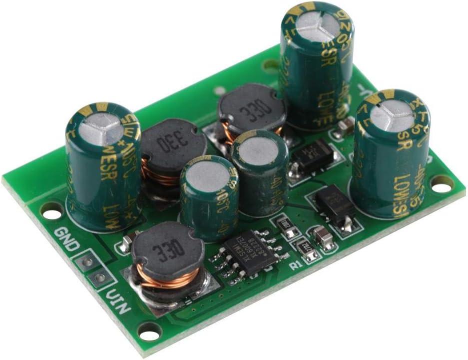 Salida de Convertidor Boost-Buck de Voltaje Positivo y Negativo DC-DC ± 5V 6V 9V 10V 12V 15V 18V 24V(Output voltage ±15VDC,)