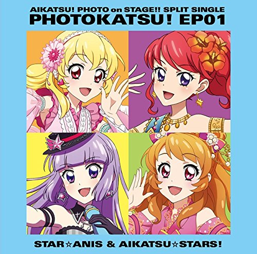 Star Anis, Aikatsu Stars! - Aikatsu! Photo On Stage!! (App Game) Split Single Photo Katsu! Ep 01 [Japan CD] LACM-14528