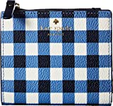 Kate Spade New York Women's Hyde Lane Adalyn Small Wallet, Navy/White, One Size