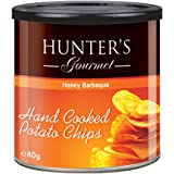 Hunter's Gourmet Hand Cooked Potato Chips Honey Barbeque - 40gm