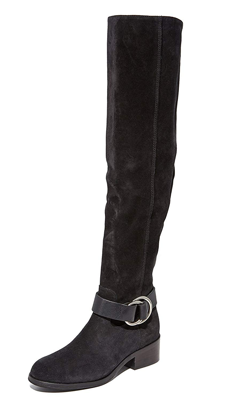 e96f57e2271 Amazon.com  FRYE Women s Kristen Harness Over The Knee Boots  Shoes