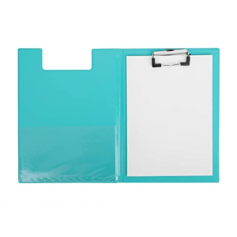 Amazon.com : A5 Clipboard Profile Clip Hardboard Metal Clamp ...