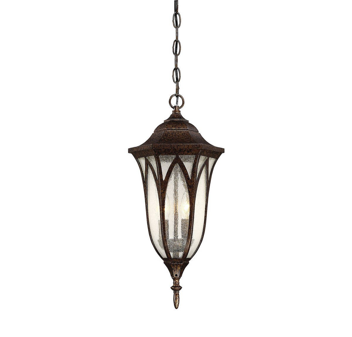 Savoy House 5-1242-56 Dayton Outdoor Hanging Lantern in New Tortoise Shell by Savoy House