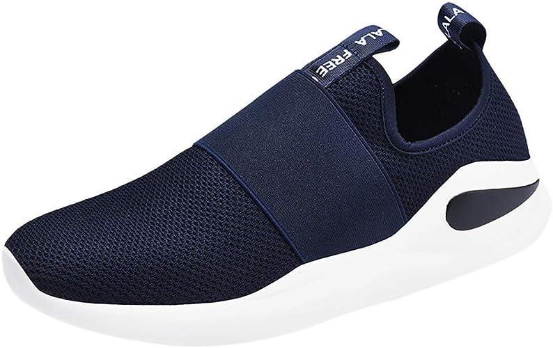 Zapatillas Running Hombre Zapatos para Correr Cómodos ...