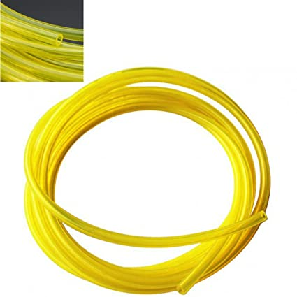 Clear yellow Color 25 Foot TYGON FUEL LINE 2mmX3.5mm Best Price Premium Quality