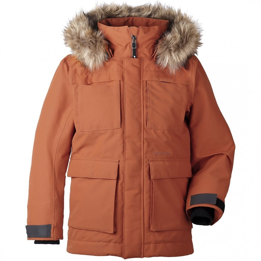 1d16ce77c37b Didriksons Norden Boys YT Parka  Amazon.co.uk  Clothing