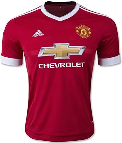 quality design d182a d06f2 Amazon.com : adidas Manchester United FC Home Authentic ...