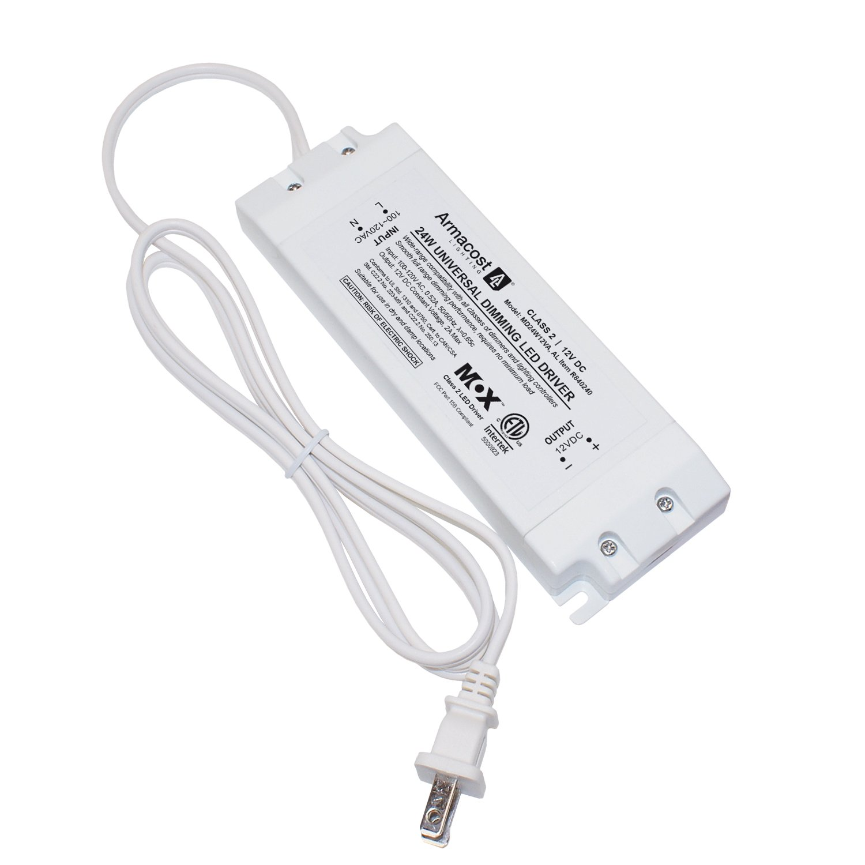 Armacost Lighting Universal 24 Watt Dimming Driver, 12-Volt DC Power ...