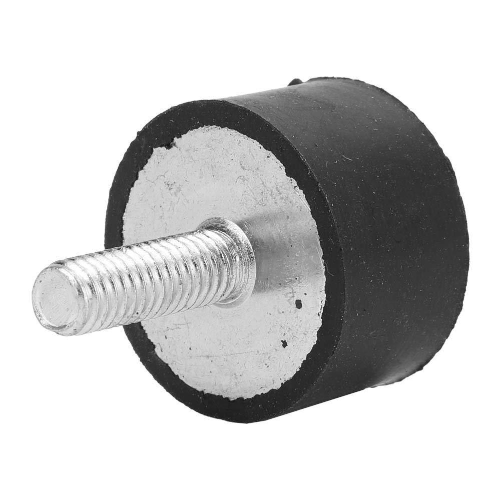amortisseur de vibration anti-choc avec la conception de structure antichoc VE25*15 M6*18 B/âti en caoutchouc anti-vibration de bobine de 4 PCS
