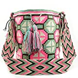 Wayuu Bag - Large Mochila - Design - Matisse - 2543