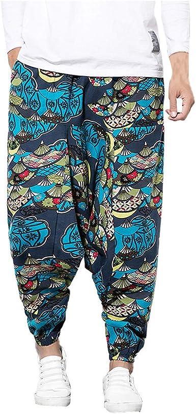 Poundy Mens Cargo Pants Slim Fit Casual Jogger Pant Trousers Sweatpants Pants for Men