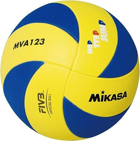 MIKASA Bälle Mva 123 - Balón de Voleibol para Interior, Color Azul ...