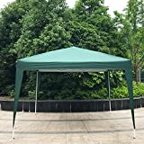 Peach Tree Canopy Wedding Party Tent Heavy Duty Outdoor Gazebo, 10Ft By 10Ft, Green Review