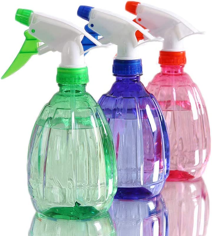 Drybely Botella de rociador de jardín, Plantas de plástico Botella de rociador de Agua Ideal para Lavar Mascotas y regar (Botella de riego - Paquete de 3): Amazon.es: Jardín