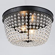 Jojospring Connie 2-light Antique Flush Mount