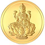 BlueStone BIS hallmarked 10 gm, 24k Yellow Gold Lakshmi Precious Coin
