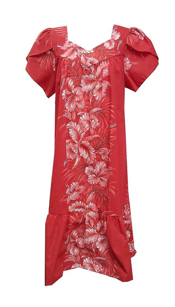 ea44163ee4d Jade fashions inc womens hawaiian red hibiscus cap sleeves muumuu dress  clothing jpg 571x1001 Red hawaiian