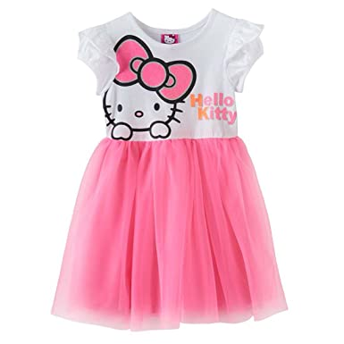ab8e7b0af Image Unavailable. Image not available for. Color: Hello Kitty Little Girl  Tutu Dress 6x Plus-Size ...