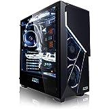 Megaport PC Gamer Premium Intel Core i7-8700 6X 4,60 GHz Turbo • GeForce GTX1080 8Go • 16Go DDR4 • 250Go SSD • 1To • Windows 10 • WiFi Unité Centrale Ordinateur de Bureau PC Gaming Ordinateur Gamer