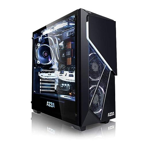 Megaport PC Gamer Premium Intel Core i7-8700 6X 4,60 GHz Turbo • GeForce GTX1070 8Go • 16Go DDR4 • 250Go SSD • 1To • Windows 10 Unité Centrale Ordinateur de Bureau PC Gaming PC Ordinateur