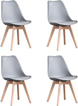 【Diseño de humanización】 Diseño ergonómico de altura perfecta y asiento curvo que respalda bien la e