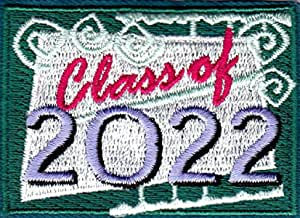 CLASS OF 2023  Iron On Patch School Graduation College