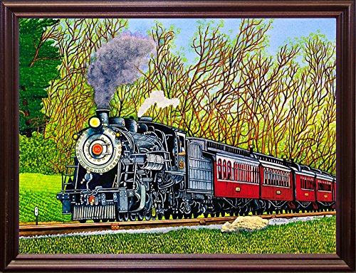 Strasburg Cherry - Engine #90 II, Strasburg, Pa-THEWIN90463 Print 5.25