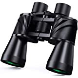 10x50 Powerful Binoculars for Adults with Low Light Night Vision, Large Eyepiece, 10 Seconds Quick Focus, Waterproof Wide Ang