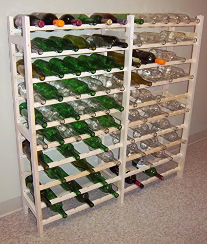 Home-App Vinland 120 Bottle Wine Rack, 12 wide by 10 high Home Supply Maintenance Store ()