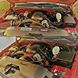 "SUPERFASTRACING 4"" Cold Air Intake System + Heat"