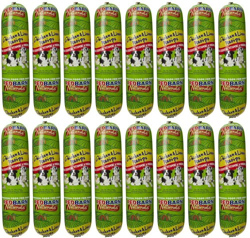 Red Barn Chicken & Liver Dog Food Roll 64Lbs (16 x 4Lb)