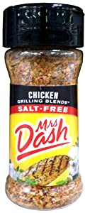 Mrs. Dash CHICKEN GRILLING BLEND Salt-Free Seasoning 2.5oz (8 Pack)
