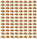 Beistle 50160-P Child Cowboy Hat with Star and Chin Strap (96 Pack), Multicolor