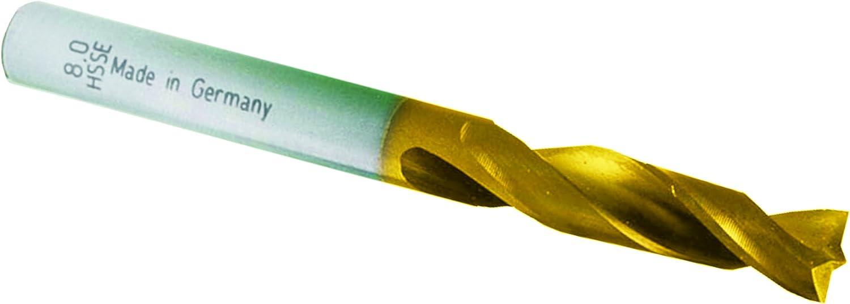 Mueller-Kueps 244 008 8 x 80 mm HSSE Spot Weld Drill Bit