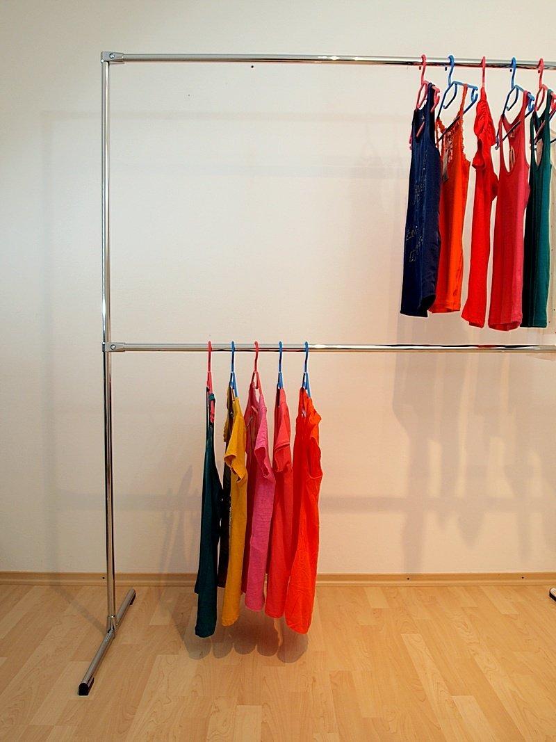 raff 150x180x60 Profi KLEIDERST/ÄNDER KLEIDERSTANGE Garderobe FREISTEHEND-G180