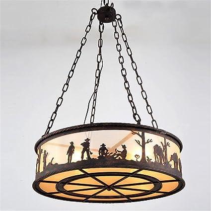 Retro grande lámpara colgante luces de techo Vintage ...