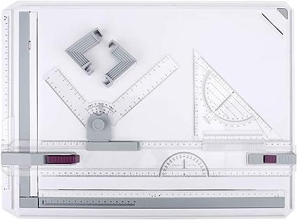 HandsEase regolabile formato A3 tavoletta da disegno grafica architettonica sistema di misurazione con accessori di movimento parallelo multi-funzione