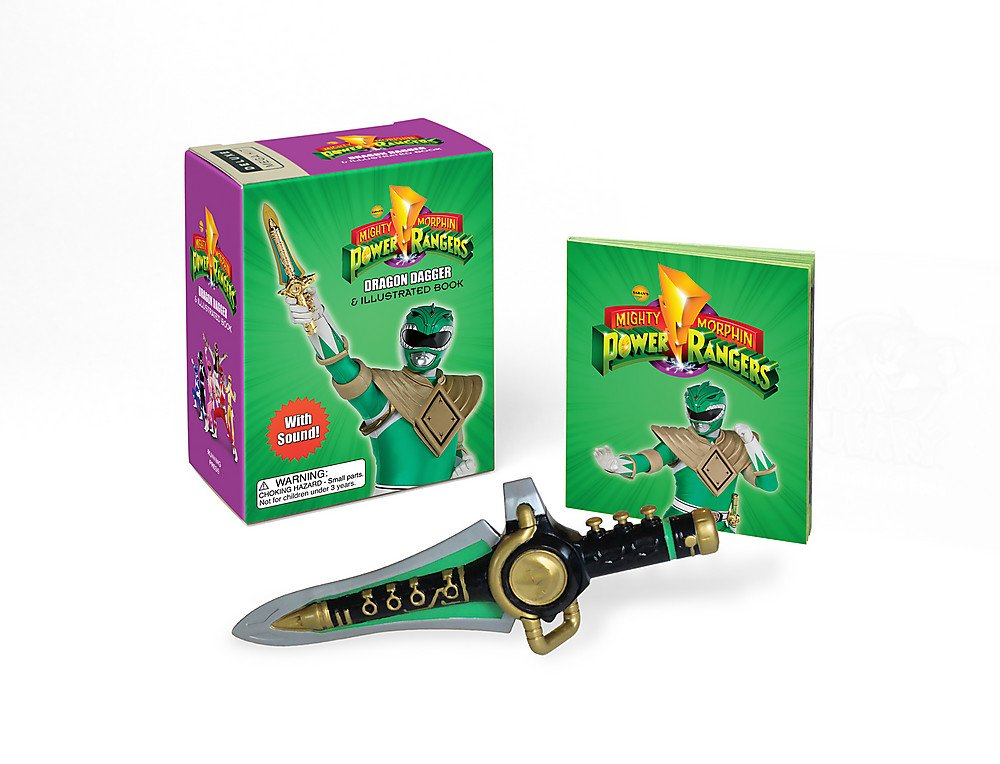 Mighty Morphin Power Rangers Dragon Dagger and Sticker Book: With Sound! (Miniature Editions)