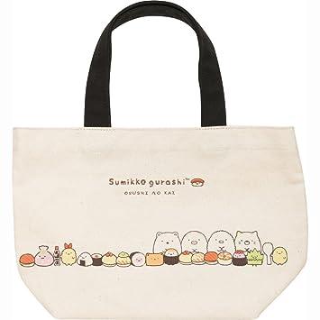 9bb3666899f7 Amazon.com : San-X Sumikko Gurashi Sushi Party Mini Tote Bag CT95001 ...