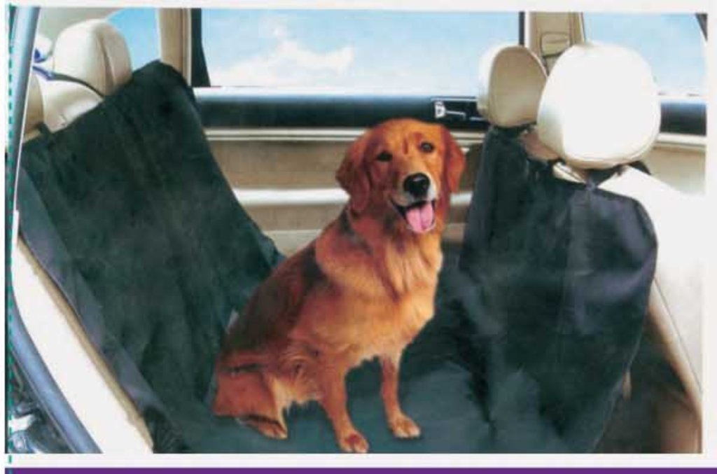 RENAULT Clio III 05- Hammock Rear Car Dog Pet Seat Rubbish protector cover blanket wlw