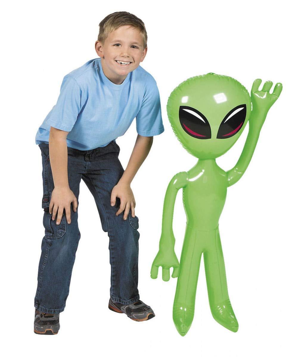 Horror-Shop Hinchable Extraterrestre ca. 91 cm: Amazon.es ...