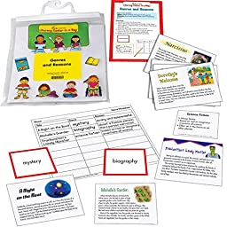 Genres & Reasons Reading Comprehension Game